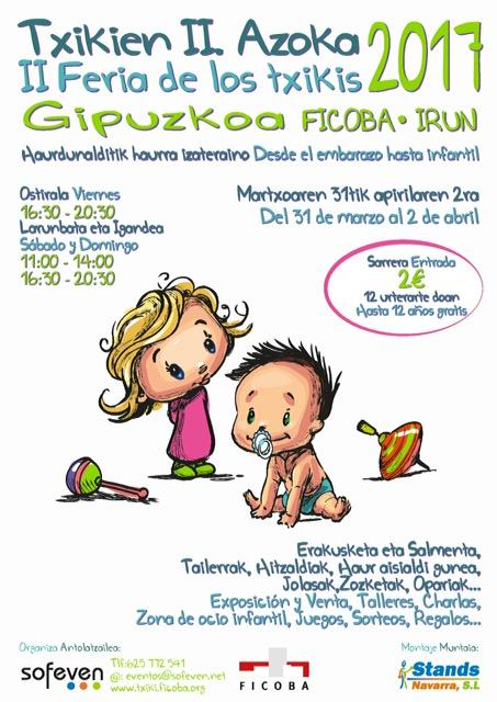 Alrededor de  3.500 personas han visitado este fin de semana la II feria de los txikis de Gipuzkoa en Ficoba