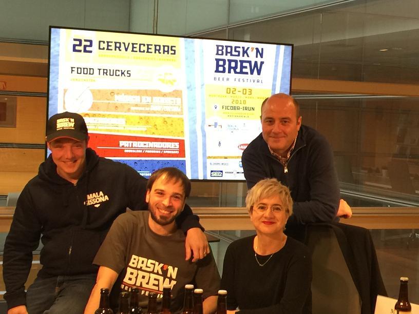 Cerveza artesana, food trucks y música en vivo: tres buenas razones para visitar el Bask'n Brew Beer Festival de Ficoba