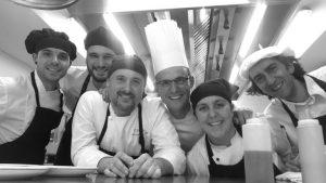 El chef de Ficoba, iñigo lavado, protagoniza la felicitación de navidad de la multinacional metro, tercer grupo mundial de distribución