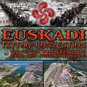 """La """"2ª Euskadi Tattoo Convention"""" se celebrará el 22-23-24 marzo"""