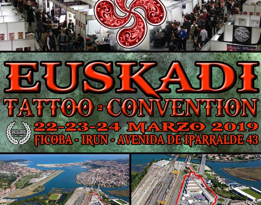"La ""2ª Euskadi Tattoo Convention"" se celebrará el 22-23-24 marzo"