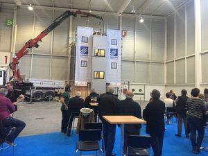 Primer Showroom industrial en Ficoba: Corsam presenta un innovador sistema de escalera modular