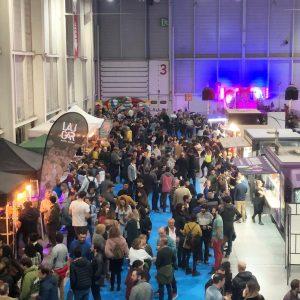 3.000 aficionados han disfrutado del tercer Bask'n Brew Beer Festival de Ficoba