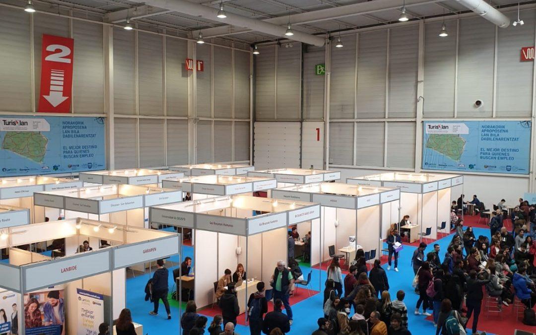 Récord de oferta de puestos de trabajo del sector turístico en la tercera edición de Turislan