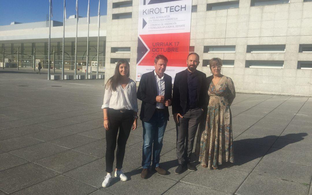 L'innovation et la technologie appliquée au sport ont la première place de la première édition de Kiroltech