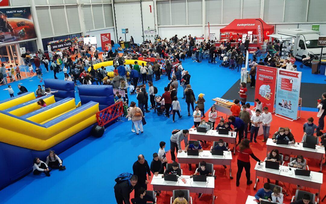 PIN 2019 à Ficoba : plus de 13 600 visiteurs et nombre record d'écoliers