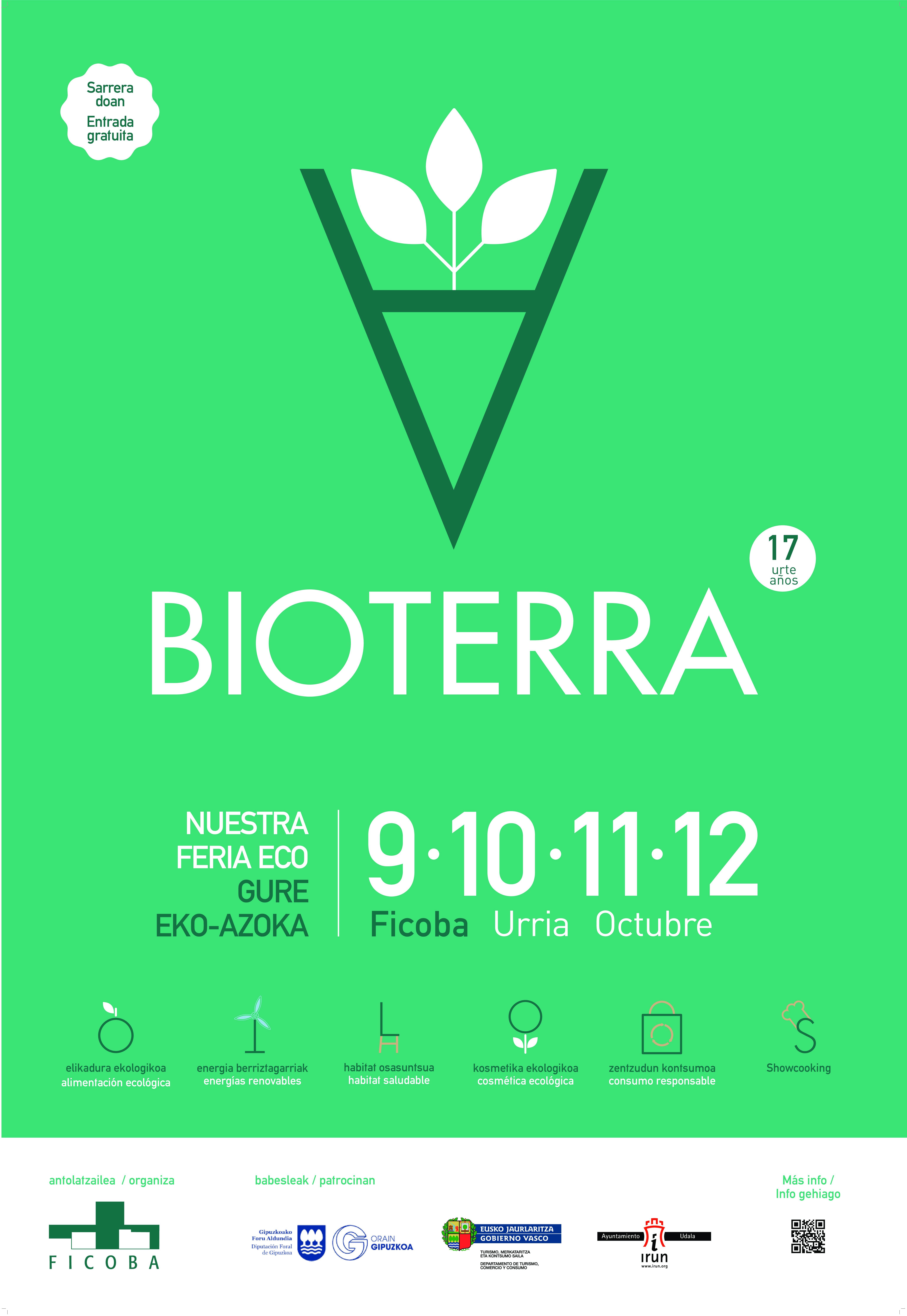 Bioterra, la feria decana de Ficoba, celebra su 17 edición